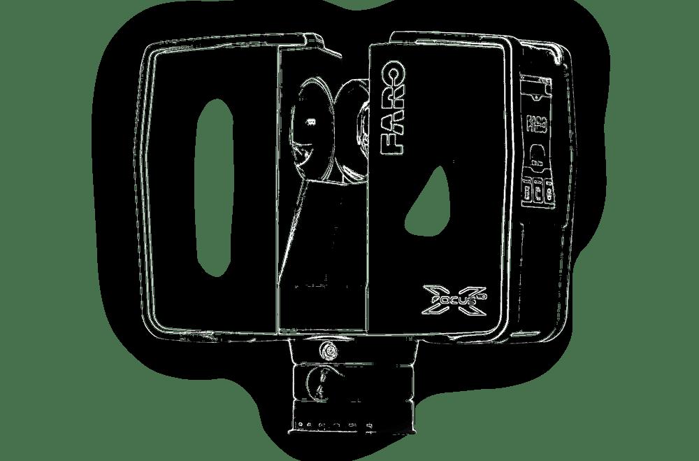 Faro_X330_stroke 3D scanning