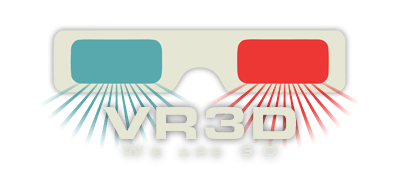 VR3D - We are 3D | 3D scanning logo