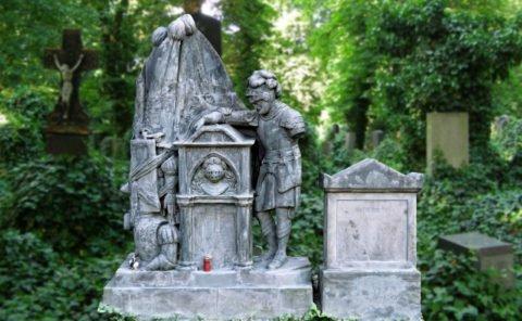 Jednoruký rytíř Ignatz Freiherr, Olšanské hřbitovy, 3D scan