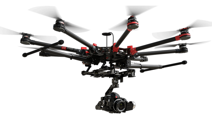 Drone 3D scanning