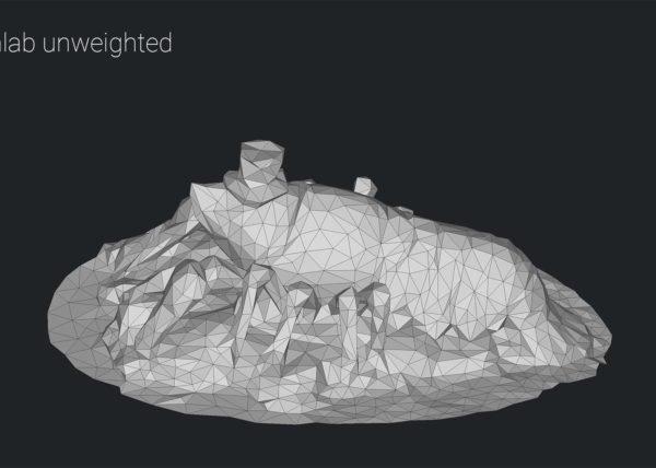 3D model decimation comparison