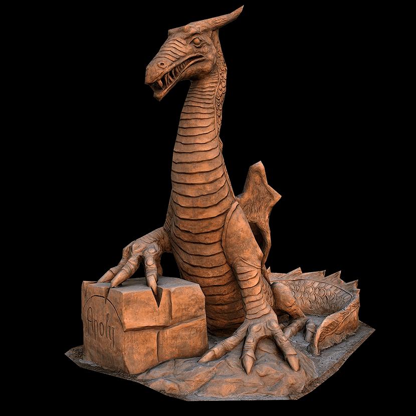 Michal Olsiak drak 3D scan